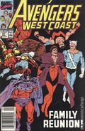 Avengers West Coast (1985) Mark Jewelers 57MJ