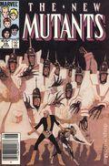 New Mutants (1983 1st Series) Mark Jewelers 28MJ
