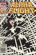 Alpha Flight (1983 1st Series) Mark Jewelers 3MJ
