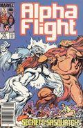 Alpha Flight (1983 1st Series) Mark Jewelers 23MJ