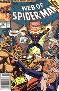 Web of Spider-Man (1985 1st Series) Mark Jewelers 59MJ
