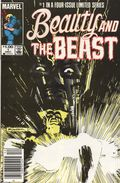 Beauty and the Beast (1985 Marvel) Canadian Price Variant 1