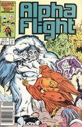 Alpha Flight (1983 1st Series) Mark Jewelers 38MJ
