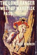 Lone Ranger West of Maverick Pass HC (1951 Grosset & Dunlap) 0-1ST