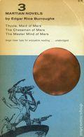 3 Martian Novels SC (1962 Dover Publications) 1-1ST