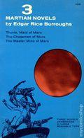 3 Martian Novels SC (1962 Dover Publications) 1-REP