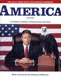 America (The Book) A Citizen's Guide to Democracy Inaction HC (2004 Warner Books) 1-1ST