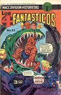 Los 4 Fantasticos (Mexican 1974-1978 Editorial OEPISA) Fantastic Four 51
