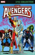 Avengers Heavy Metal TPB (2020 Marvel) Epic Collection 1-1ST