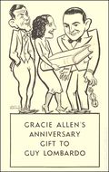 Gracie Allens Anniversary Gift to Guy Lombardo (1933) 1933