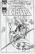 Top Cow Classics in Black and White Battle of the Planets 1