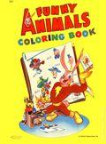 Funny Animals Coloring Book (circa 1945) 0