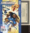 Ultimate Fantastic Four (2004) 13DF.SIGNED