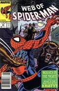 Web of Spider-Man (1985 1st Series) Mark Jewelers 53MJ