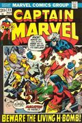Captain Marvel (1968 1st Series Marvel) Mark Jewelers 23MJ