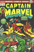 Captain Marvel (1968 1st Series Marvel) Mark Jewelers 27MJ