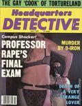 Headquarters Detective (1940) True Crime Magazine Vol. 33 #4