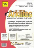 Comic Sleeve: Mylar Super Golden Arklite 25pk (#162-025)