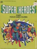 Super Heroes Stamps Puzzles Games Coloring (1980) 1