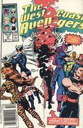 Avengers West Coast (1985) Mark Jewelers 37MJ