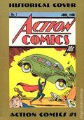 Superman Historical Cover Postcard (circa 1988) 1
