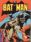 Batman Annual HC (1960 UK Edition) 1981
