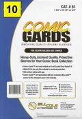 Comic Sleeve: Mylar Silver/Gold Comic-Guard 10pk (#061-010)