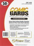 Comic Sleeve: Mylar Super Gold Comic-Guard 50pk (#062-050)