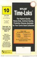 Comic Sleeve: Mylar Current Time-Loks 10pk (#704-010)