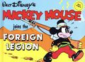 Walt Disney's Mickey Mouse Joins the Foreign Legion HC (1980 Abbeville Press) 0-1ST