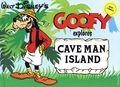 Walt Disney's Goofy Explores Cave Man Island HC (1980 Abbeville Press) 0-1ST