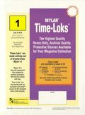 Comic Sleeve: Mylar Magazine Time-Loks 1pk (#878-001)