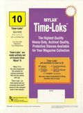 Comic Sleeve: Mylar Magazine Time-Loks 10pk (#878-010)