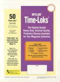 Comic Sleeve: Mylar Magazine Time-Loks 50pk (#878-050)