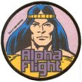 Alpha Flight Patch Series (1984-1986 Marvel) PATCH#1