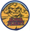 Alpha Flight Patch Series (1984-1986 Marvel) PATCH#3