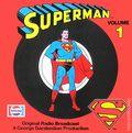 Superman Promotional Original Radio Broadcast Record 812-PEPSI