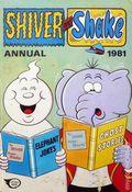Shiver and Shake HC (1974-1986 IPC Magazines) UK Annuals 1981