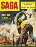 Saga Magazine (1950 2nd Series) Vol. 10 #1