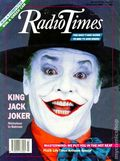 Radio Times Featuring Batman (1989) JUNE 1989