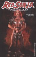 Red Sonja Price of Blood (2020 Dynamite) 1E