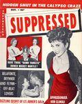 Suppressed (1954-1957 Suppressed Inc) Magazine Oct 1957