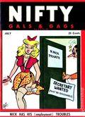 Nifty Gals & Gags (1947-1958 Dearfield Publishing) Jul 1950