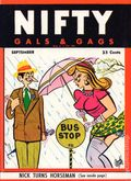 Nifty Gals & Gags (1947-1958 Dearfield Publishing) Sep 1950