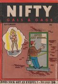 Nifty Gals & Gags (1947-1958 Dearfield Publishing) Sep 1954