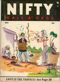 Nifty Gals & Gags (1947-1958 Dearfield Publishing) May 1955