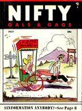 Nifty Gals & Gags (1947-1958 Dearfield Publishing) Jul 1955