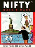 Nifty Gals & Gags (1947-1958 Dearfield Publishing) Jan 1956