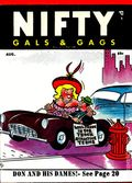 Nifty Gals & Gags (1947-1958 Dearfield Publishing) Aug 1956