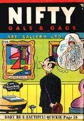 Nifty Gals & Gags (1947-1958 Dearfield Publishing) Feb 1958